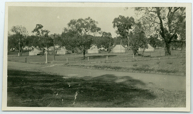 Army Camp behind Prime Minister's Lodge May 1927