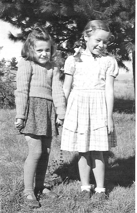 Two little girls Capitol Hill Camp 1950s